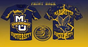 marquette university t-shirt design by StreetWearinc