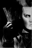Sweeney Todd -  Johnny Depp by IsabelIntangible