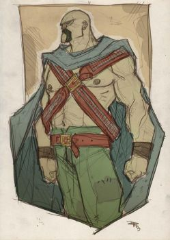 Justice League Western - MARTIAN MANHUNTER by DenisM79