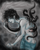 The monster in my lungs by eto-nani