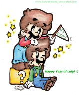 Happy Year of Luigi by BabyAbbieStar