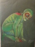 Totem: Red Eyed Tree Frog by DreamWithinTheHeart
