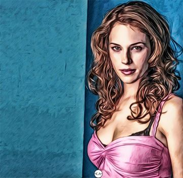 Amanda Righetti //ART// by KENANN827