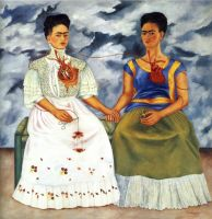 The two Fridas by angesha