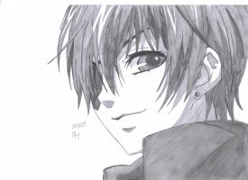 Ciel Phantomhive {Sketch} by vivian123123