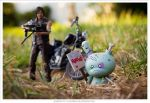 Series '11 - Huck Gee meets Walking Dead by Luna-Nera-x