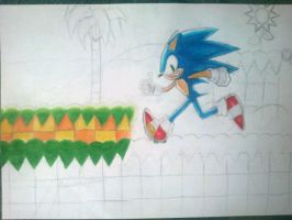 Back at Green Hill Zone WIP by nothing111111