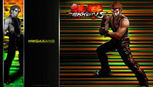 Tekken wallpaper - Hwoarang 2 by Reddari