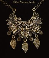 Golden Summer by blackcurrantjewelry