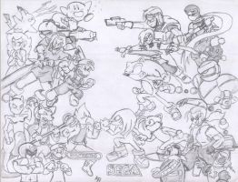 Nintendo Vs SEGA by alexth