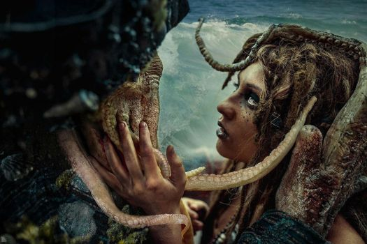 Calypso and Davy Jones (cosplay) by Elis-Kelt