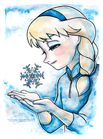 Day 11: Little Elsa by Ralenore