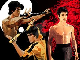 BRUCE LEE TRIFECTA by MD-AVENT