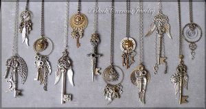 Celestial Keys IV by blackcurrantjewelry