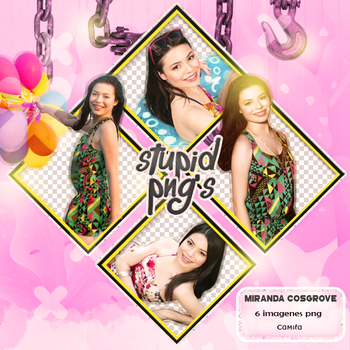 Pack Png 05-Miranda Cosgrove by CamiTinista123