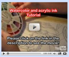Watercolor Tutorial Video 3 by lady-cybercat