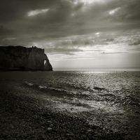 walking aroun Etretat IV... by Kaarmen