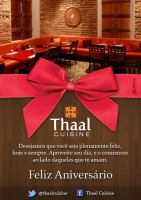 Newsletter - Thaal Cuisine by lcdesigner