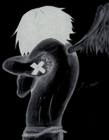 Emo Angel- Negative by PandaProjectile