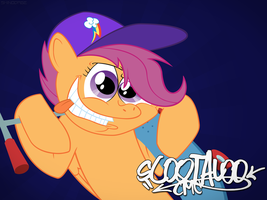 Scootaloo CMC by ShinodaGE
