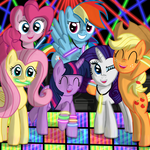 Pony Rave by Daedric-Pony