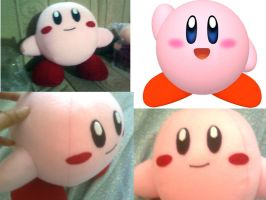 Kirby plush by Elitazesf