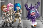 Saint Seiya-Ghostbuster by DAVIDE76
