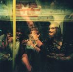 Holga: 3 Friends on Tube by pet-rubber-duck