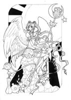 Eternal Sailor Moon - lineart by Dar-chan