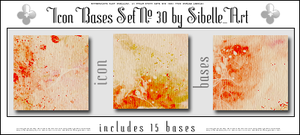 Icon Bases Set No. 30 by Sibelle