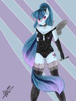 Sexy Sonata Warrior by MrsCurlyStyles