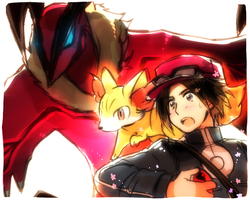 Pokemon Y by Cioccolatodorima