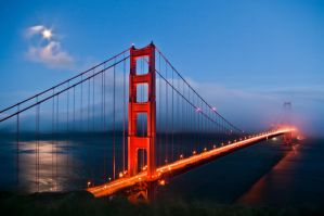Golden Gate Bridge II by W-L-Designs