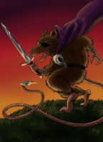 C is for Cluny the Scourge by thenumber42