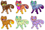 $5 Kitty Adopts! by Imaginary-sama