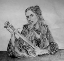 Game of Thrones: Cersei Lannister - Finished! :D by erikhart