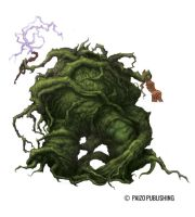 Shambling Mound by GammaGrey
