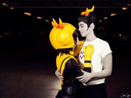 Mituna x Cronus Homestuck Love by SNTP