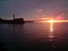 Whitehaven Harbour Sunset 2 by SAMBENNETT123