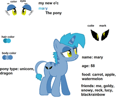 Mary my new o'c by CupcakeWarriorsCats