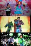 Tekken Tag Tournament 2 cartoon costumes 2 by toongrowner