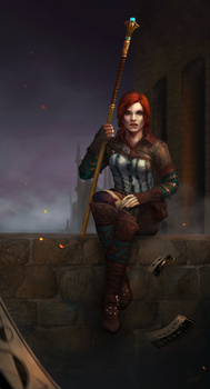 Triss by Wolnir
