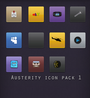 Austerity icon pack 1 by Clownassasin