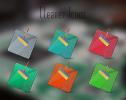 Cleaner Icons by BogdanYaremak