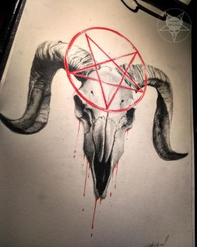 the red pentagram finished by AndreySkull