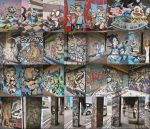 Yokohama graffiti 2 by silentsketcher