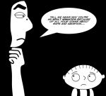 Stewie Griffin meets Marjane Satrapi by TheDrifterWithin
