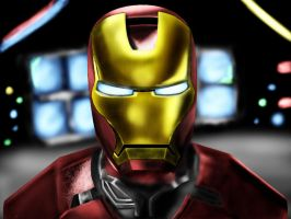 Iron Man by steverthanever
