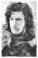 Jon Snow by omarjosef