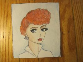 Lucille Ball by CrapILostTheGame1999